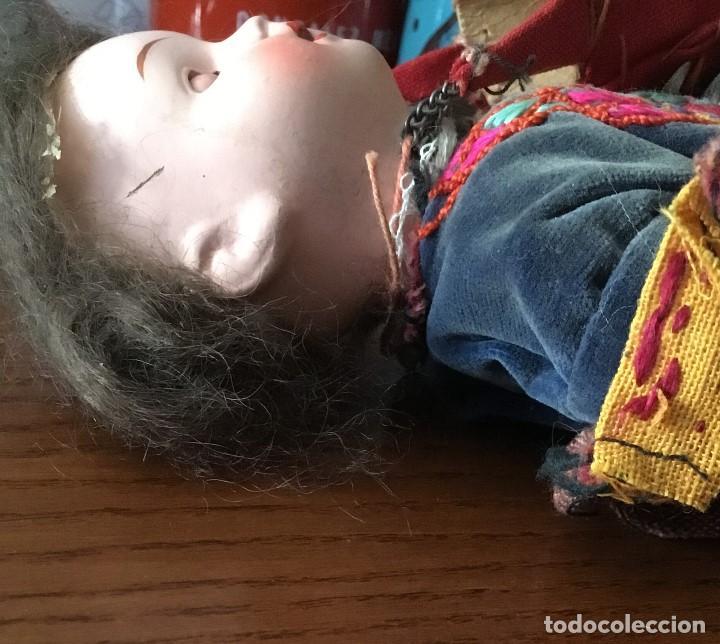 Muñecas Porcelana: Muñeca antigua de porcelana marcada en la cabeza. SE PUEDE PAGAR CON FACILIDADES. - Foto 11 - 209766948