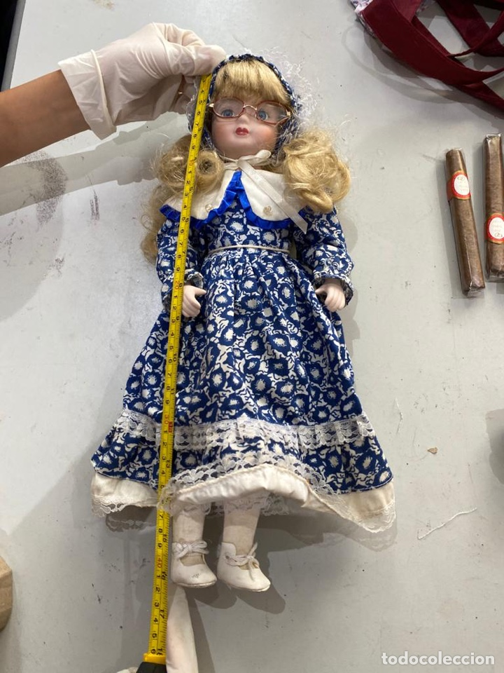 Muñecas Porcelana: ANTIGUA MUÑECA PORCELANA - Foto 4 - 210301362