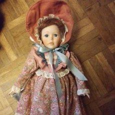 Muñecas Porcelana: LINDA MUÑECA PORCELANA LEONARDO COLLECTION. Lote 210460515