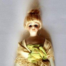 Muñecas Porcelana: PEQUEÑA ANTIGUA MUÑECA DE PORCELANA- 12,50 CM. Lote 210942119