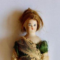 Muñecas Porcelana: PEQUEÑA ANTIGUA MUÑECA DE PORCELANA- 13 CM. Lote 210942825