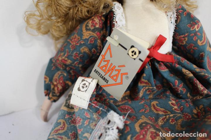 Muñecas Porcelana: muñeca de porcelana fina de fanás artesanos - Foto 2 - 211256184