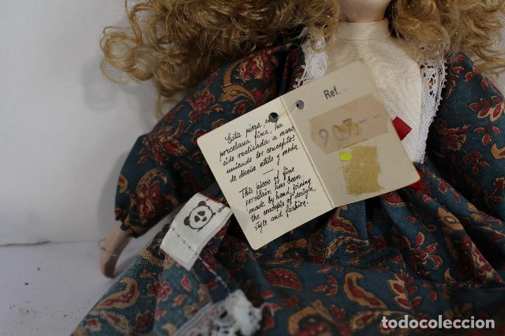 Muñecas Porcelana: muñeca de porcelana fina de fanás artesanos - Foto 3 - 211256184
