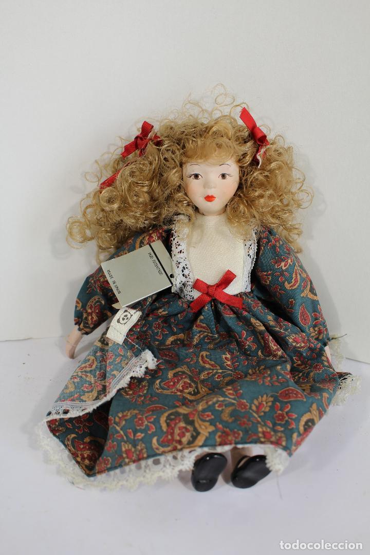 Muñecas Porcelana: muñeca de porcelana fina de fanás artesanos - Foto 4 - 211256184