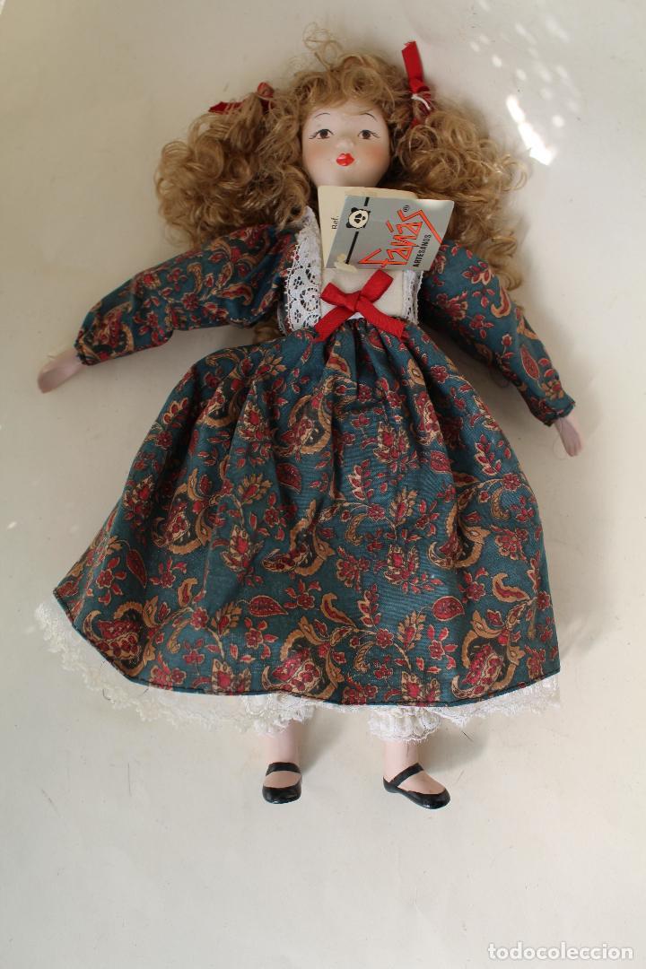 Muñecas Porcelana: muñeca de porcelana fina de fanás artesanos - Foto 5 - 211256184