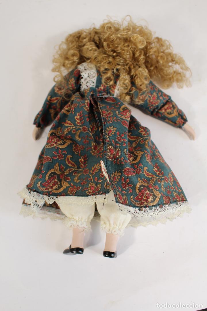 Muñecas Porcelana: muñeca de porcelana fina de fanás artesanos - Foto 6 - 211256184