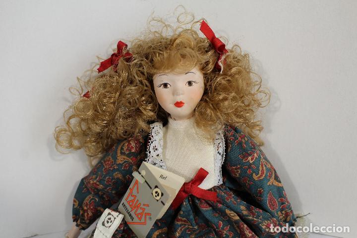 Muñecas Porcelana: muñeca de porcelana fina de fanás artesanos - Foto 7 - 211256184