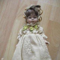 Muñecas Porcelana: PRECIOSA MUÑECA DE PORCELANA CON SOPORTE.. Lote 211486260