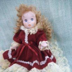 Muñecas Porcelana: MUÑECA PORCELANA MINIATURA COLECCIÓN. Lote 212942072