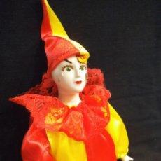 Muñecas Porcelana: ARLEQUÍN PORCELANA. Lote 212943068