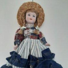 Muñecas Porcelana: PRECIOSA MUÑECA DE PORCELANA. Lote 213603785