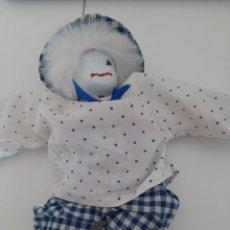 Muñecas Porcelana: PAYASO DE PORCELANA CON DESGATE EN LA CARA, CUERPO BLANDO. Lote 213604053