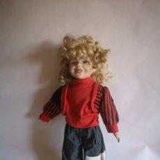 Muñecas Porcelana: MUÑECA DE PORCELANA DE JSC. Lote 213825370