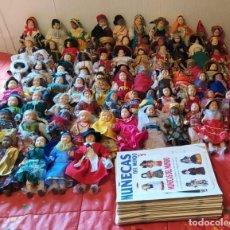 Muñecas Porcelana: MUÑECAS DEL MUNDO DE PORCELANA AUTENTICA. COLECCION COMPLETA: 80 MUÑECAS CON SUS FASCICULOS. RBA.. Lote 223864135