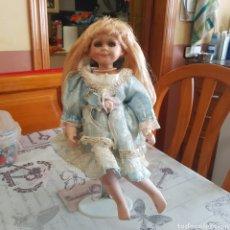 Muñecas Porcelana: MUÑECA DE PORCELANA. Lote 215352866