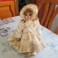 Muñecas Porcelana: MUÑECA DE PORCELANA. Lote 215355070