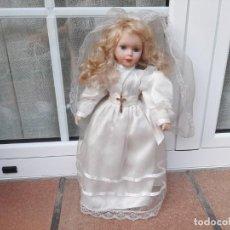 Muñecas Porcelana: MUÑECA DE PORCELANA DE COMUNION. Lote 215574877