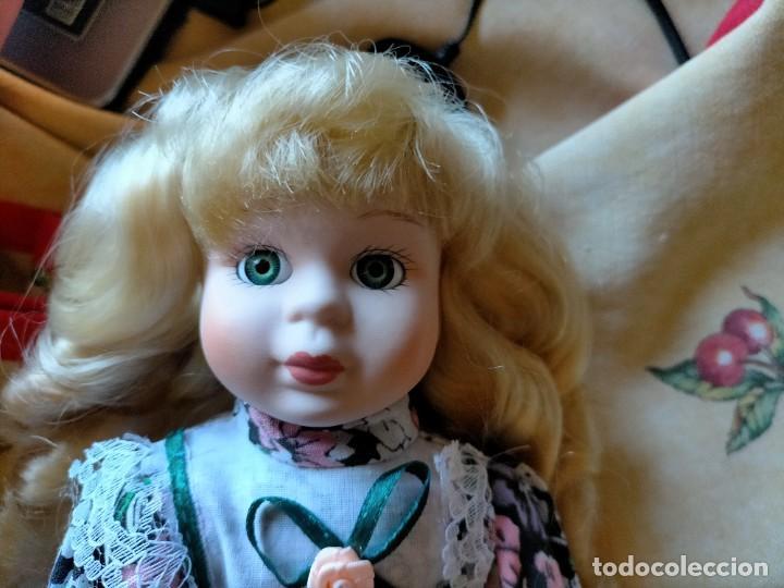 Muñecas Porcelana: MUÑECA ITALIANA DE PORCELANA COLLEZIONE FAVOLE ANTICHE. NUEVA, CAJA ORIGINAL - Foto 4 - 216374687