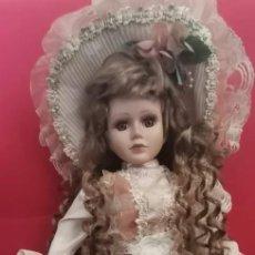 Muñecas Porcelana: MUÑECA DE PORCELANA. Lote 216657052