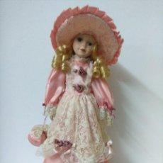 Muñecas Porcelana: BONITA MUÑECA DE PORCELANA.. Lote 216664630