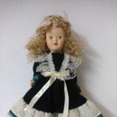 Muñecas Porcelana: BONITA MUÑECA DE PORCELANA.. Lote 216666207