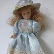Muñecas Porcelana: BONITA MUÑECA DE PORCELANA.. Lote 216666496