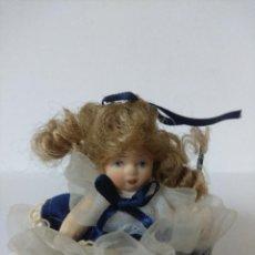 Muñecas Porcelana: BONITA MUÑECA DE PORCELANA.. Lote 216667193
