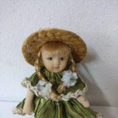 Muñecas Porcelana: BONITA MUÑECA DE PORCELANA.. Lote 216667367
