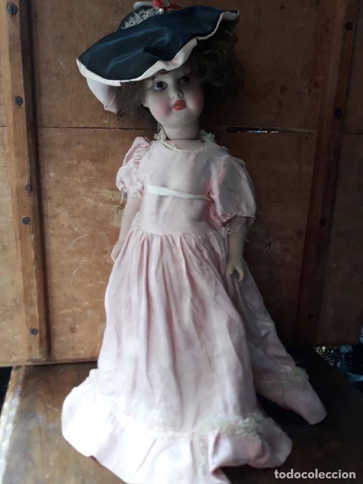 Muñecas Porcelana: PRECIOSA MUÑECA GRAN TAMAÑO EN PORCELANA AMER - Foto 2 - 216669072