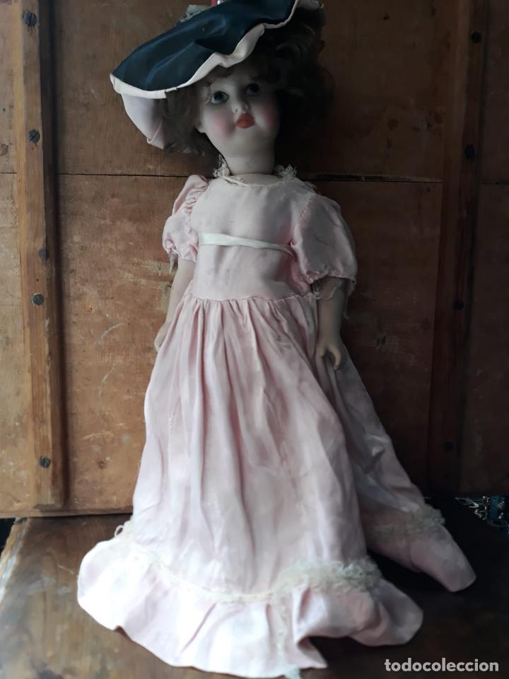 Muñecas Porcelana: PRECIOSA MUÑECA GRAN TAMAÑO EN PORCELANA AMER - Foto 5 - 216669072