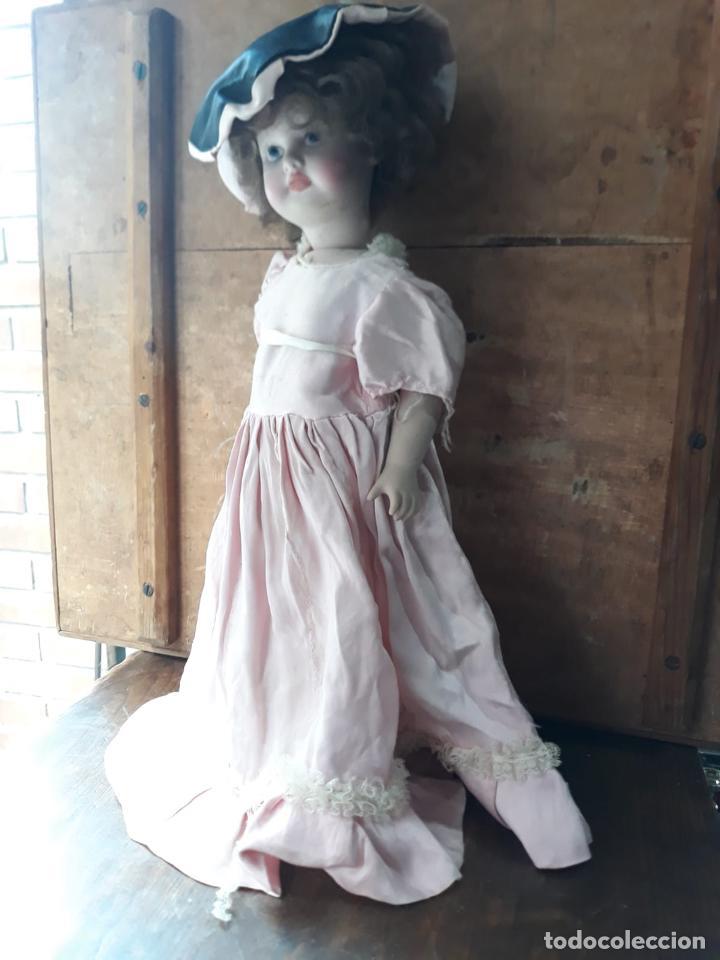 Muñecas Porcelana: PRECIOSA MUÑECA GRAN TAMAÑO EN PORCELANA AMER - Foto 7 - 216669072