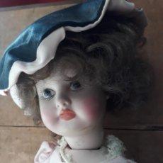 Muñecas Porcelana: PRECIOSA MUÑECA GRAN TAMAÑO EN PORCELANA AMER. Lote 216669072