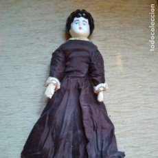 Muñecas Porcelana: MUÑECA CHINA DOLL CHARLOTTE ,CABRITILLA Y PORCELANA. Lote 216776538