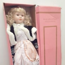 Bambole Porcellana: MUÑECA DE PORCELANA GRANDE - 80CM - MARCA HOLLYS COLLECTIBLES EDICIÓN LIMITADA. Lote 217242350