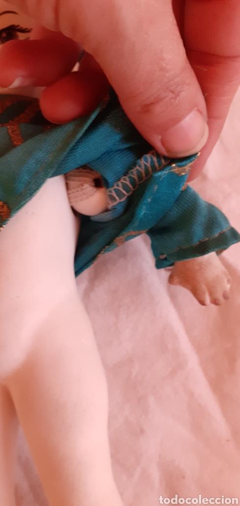 Muñecas Porcelana: FIGURA MUÑECO ORIENTAL CHINO O JAPONES DE CERAMICA O PORCELANA - Foto 11 - 217599771