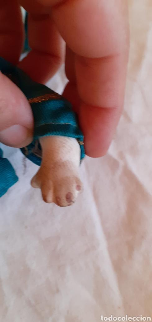 Muñecas Porcelana: FIGURA MUÑECO ORIENTAL CHINO O JAPONES DE CERAMICA O PORCELANA - Foto 12 - 217599771