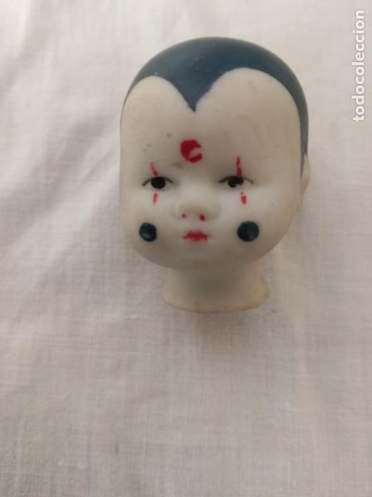 Muñecas Porcelana: CUATRO CABEZAS ANTIGUAS DE PORCELANA, DE MUÑECAS. - Foto 2 - 217728908