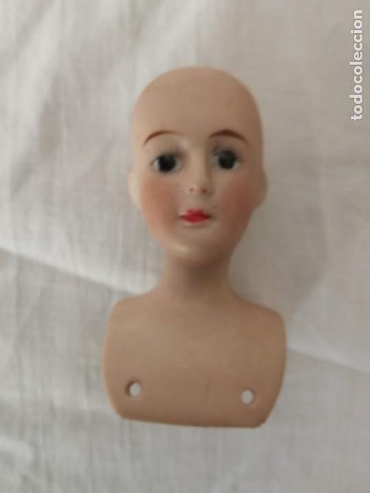 Muñecas Porcelana: CUATRO CABEZAS ANTIGUAS DE PORCELANA, DE MUÑECAS. - Foto 3 - 217728908