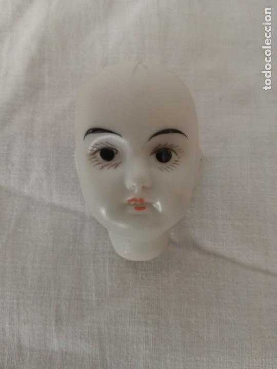 Muñecas Porcelana: CUATRO CABEZAS ANTIGUAS DE PORCELANA, DE MUÑECAS. - Foto 5 - 217728908