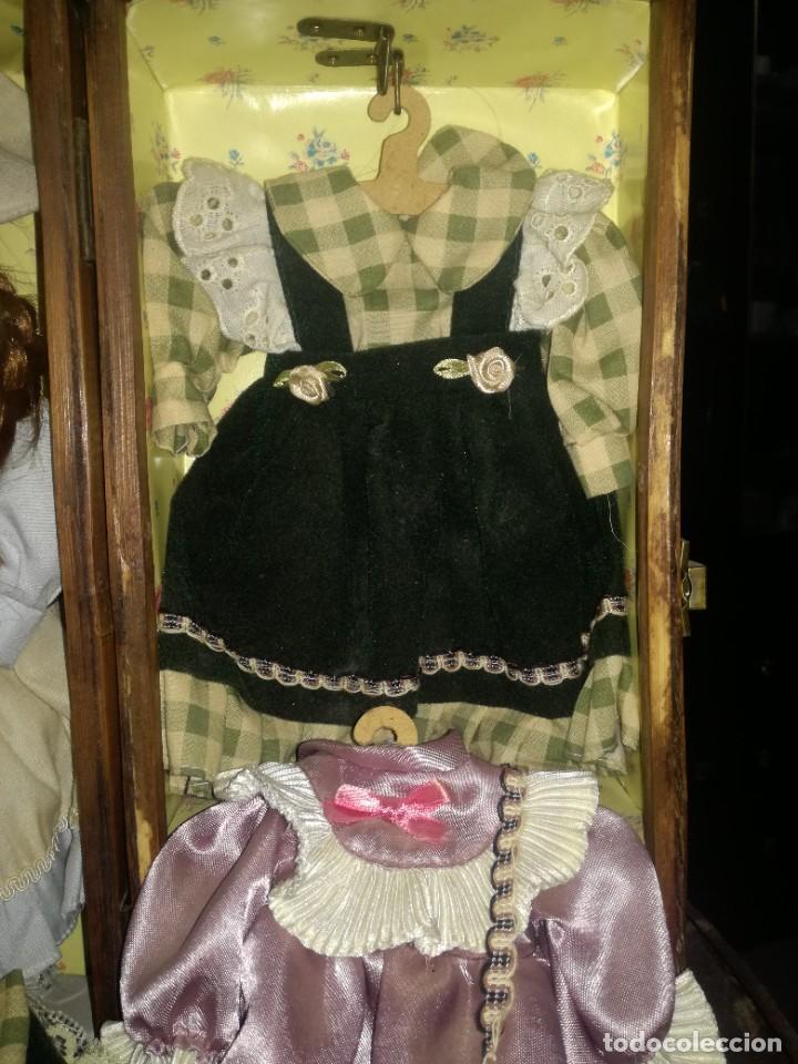 Muñecas Porcelana: MUÑECA Y ROPERO. - Foto 5 - 218621835