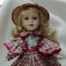 Muñecas Porcelana: MUÑECA DE PORCELANA, MIDE: 30 CM DE ALTURA.. Lote 218838182