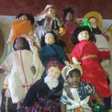Muñecas Porcelana: LOTE 13 MUÑECAS DEL MUNDO DIFERENTES COLECCIÓN PORCELANA RBA. Lote 219159675