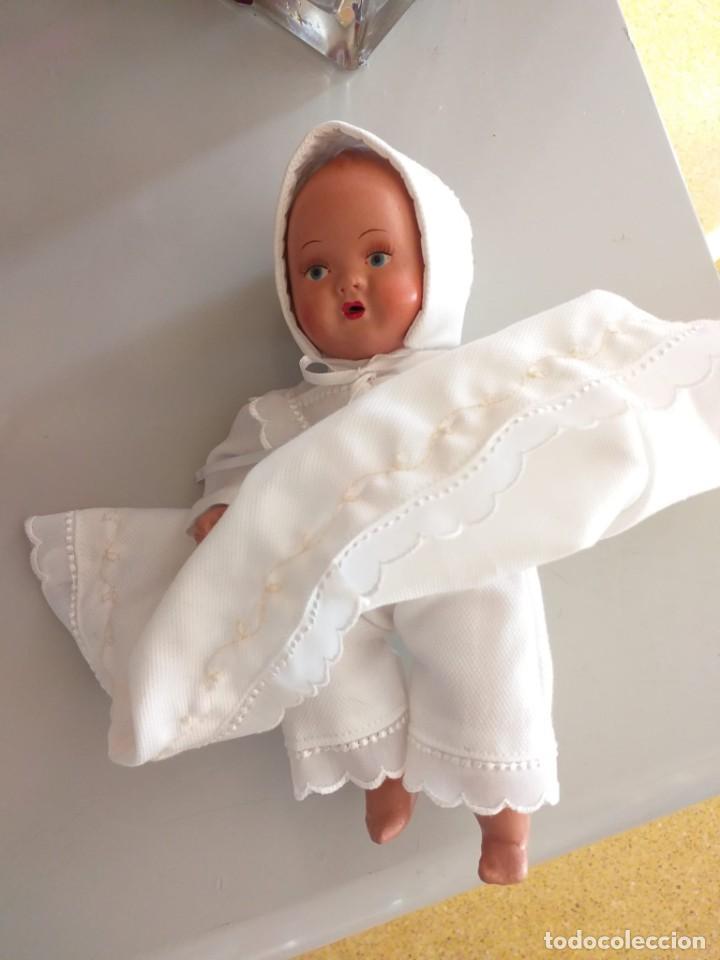 Muñecas Porcelana: Antiguo bebé porcelana 21 cm - Foto 2 - 219223551