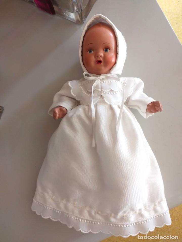 Muñecas Porcelana: Antiguo bebé porcelana 21 cm - Foto 5 - 219223551