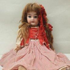 Muñecas Porcelana: MUÑECA SIGLO XIX EN PORCELANA 48 CM.. Lote 219275895
