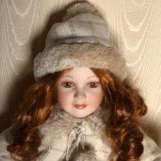 Muñecas Porcelana: MUÑECA DE COLECCION RUSS BERRIE, 50 CMS. SELLADA Y NUMERADA.. Lote 219559315