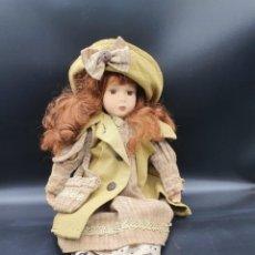 Muñecas Porcelana: MUÑECA DE PORCELANA. Lote 221288881