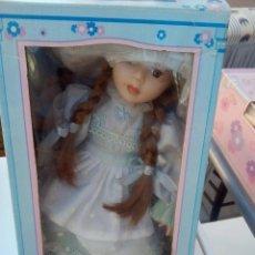 Muñecas Porcelana: MUÑECA DE PORCELANA, 32 CMS. Lote 221609042