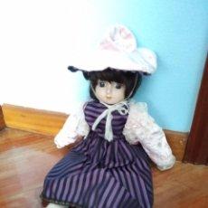 Muñecas Porcelana: MUÑECA DE PORCELANA 41CM. Lote 221687602