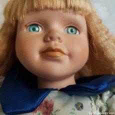 Muñecas Porcelana: MUÑECA DE PORCELANA.40CM. Lote 221804335